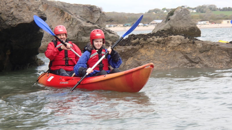 Sit-on-top Sea Kayaking