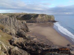 Fall Bay Gower Coastal Walking 3