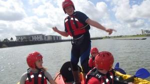 Canoeing North Dock Llanelli 1