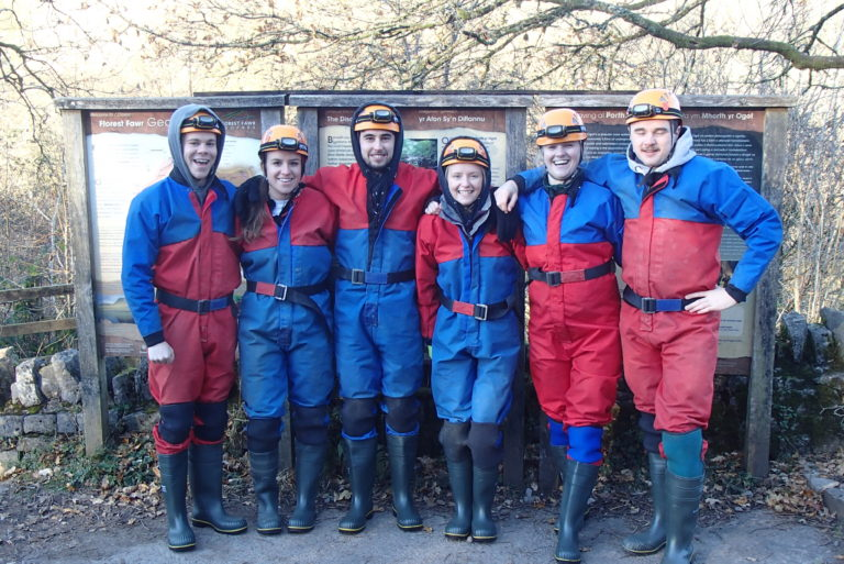 caving Brecon Beacons