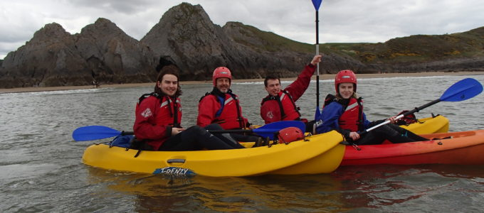 kayaking swansea