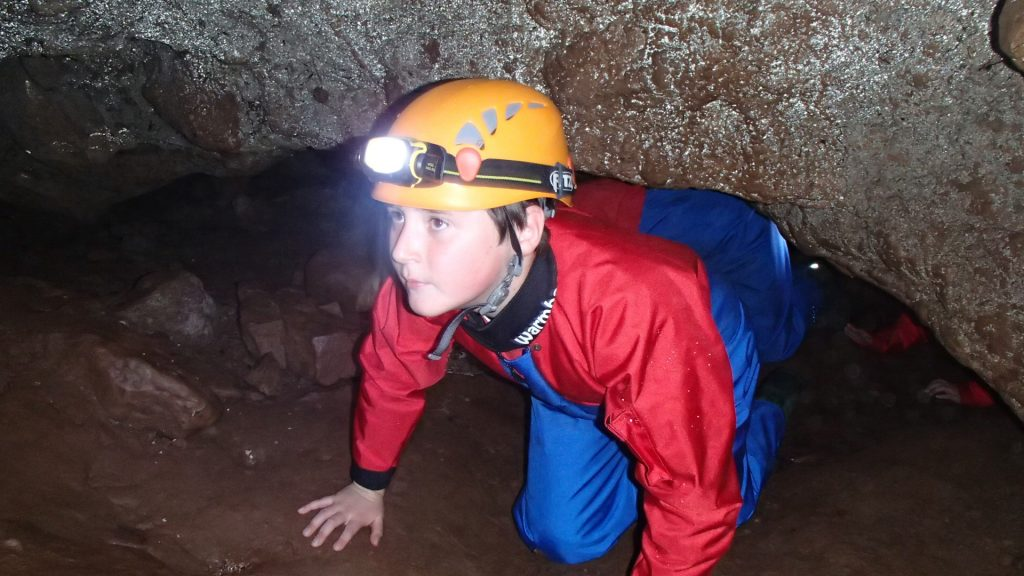 Caving South Wales