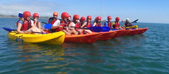 sea kayak hire gower