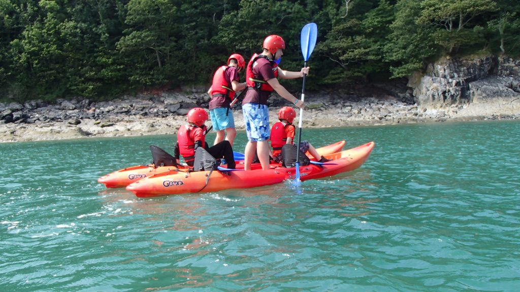 sea kayaking gower