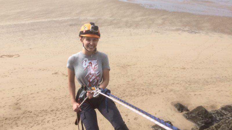 rock climbing Gower