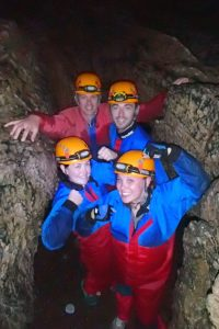 caving in the Brecon Beacons