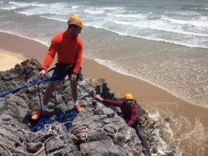 outdoor rock climbing Swansea