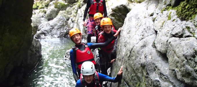 gorge walking south wales